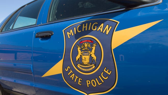 A traffic stop that included officers with weapons drawn caught the attention of motorists in the Brighton area late Thursday morning.