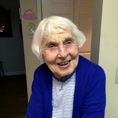 Ruth Hessey talks about her 99 years just before her