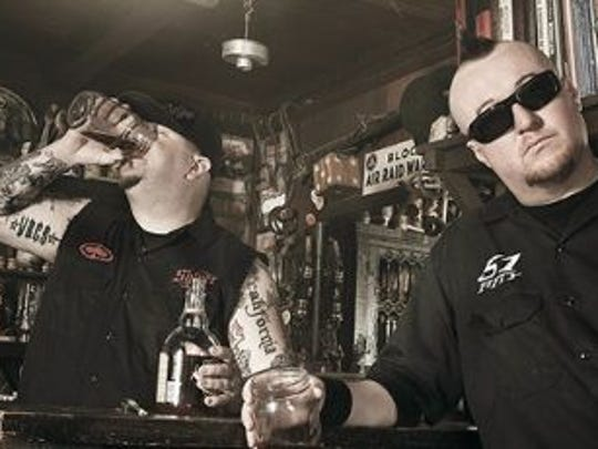 The Moonshine Bandits, a country rap group, are teaming