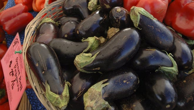 Pick eggplant before the skin gets tough and the fruit gets bitter.