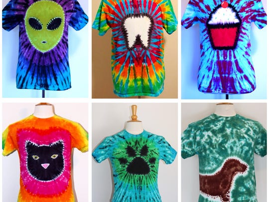 True Colors Tie Dye Art will be selling a variety of items including signature pizza and hamburger tie dye tees in adult and youth sizes.