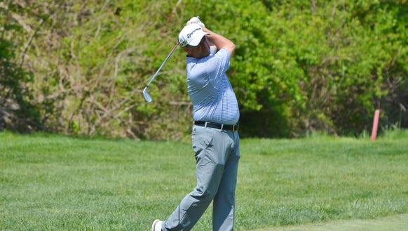 St. Andrew's head pro Greg Bisconti shot a 33 on the