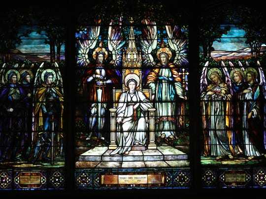 Stained-glass windows can be seen throughout St. Paul's Episcopal Church in Englewood, which is a new addition to the National Historic Places registry and is a recipient of a Bergen County Historic Preservation Award.