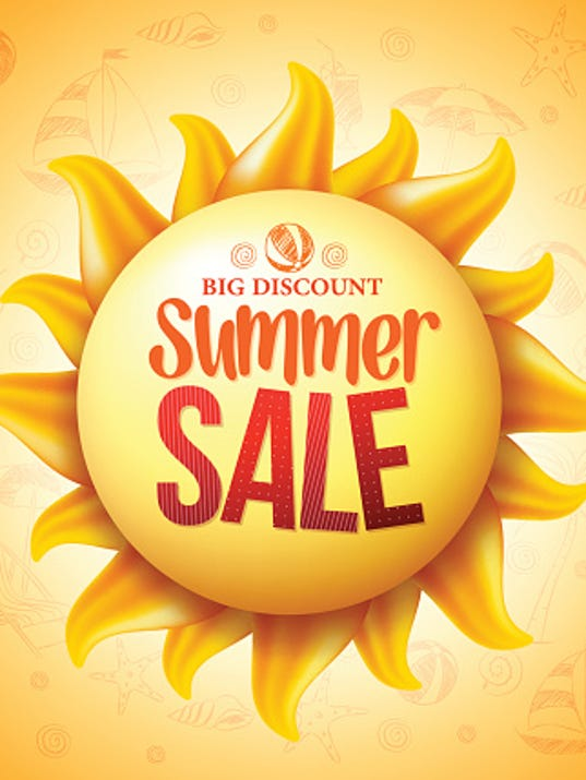 Shopping Summertime Sales June 24 July 1