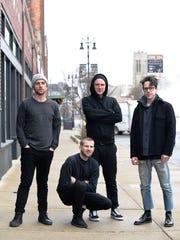 Left to right, Justin Fishaw, Andrew Davis, Darren