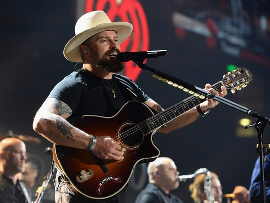 Zac Brown of the Zac Brown Band.