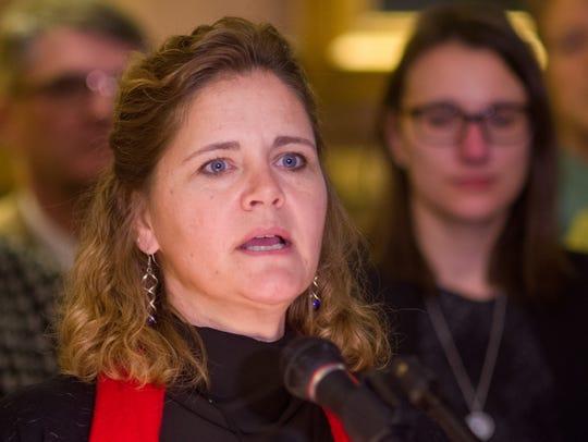 Rep. Sarah Copeland-Hanzas, D-Bradford, introduced