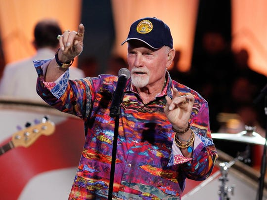 Singer Mike Love of the Beach Boys performs in 2016.