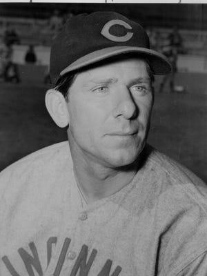 The Reds' Paul Derringer, undated.