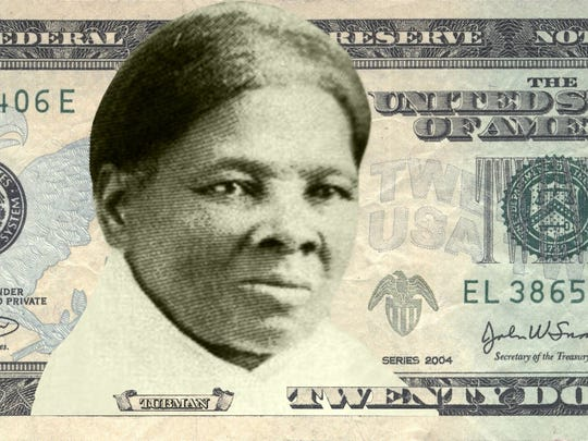 Concept art of Harriet Tubman on the $20 bill. (Photo courtesy Women on 20s/TNS)