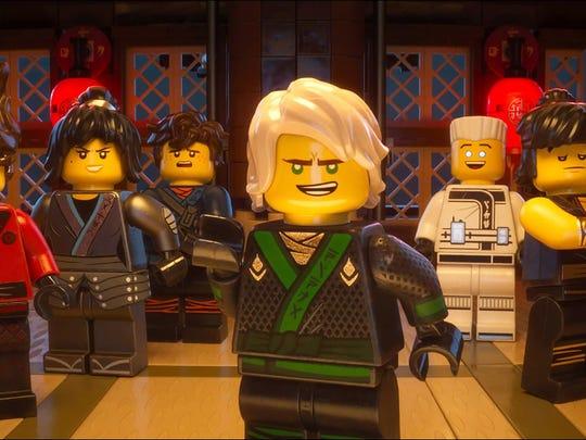 'The Lego Ninjago Movie' opens nationwide Friday