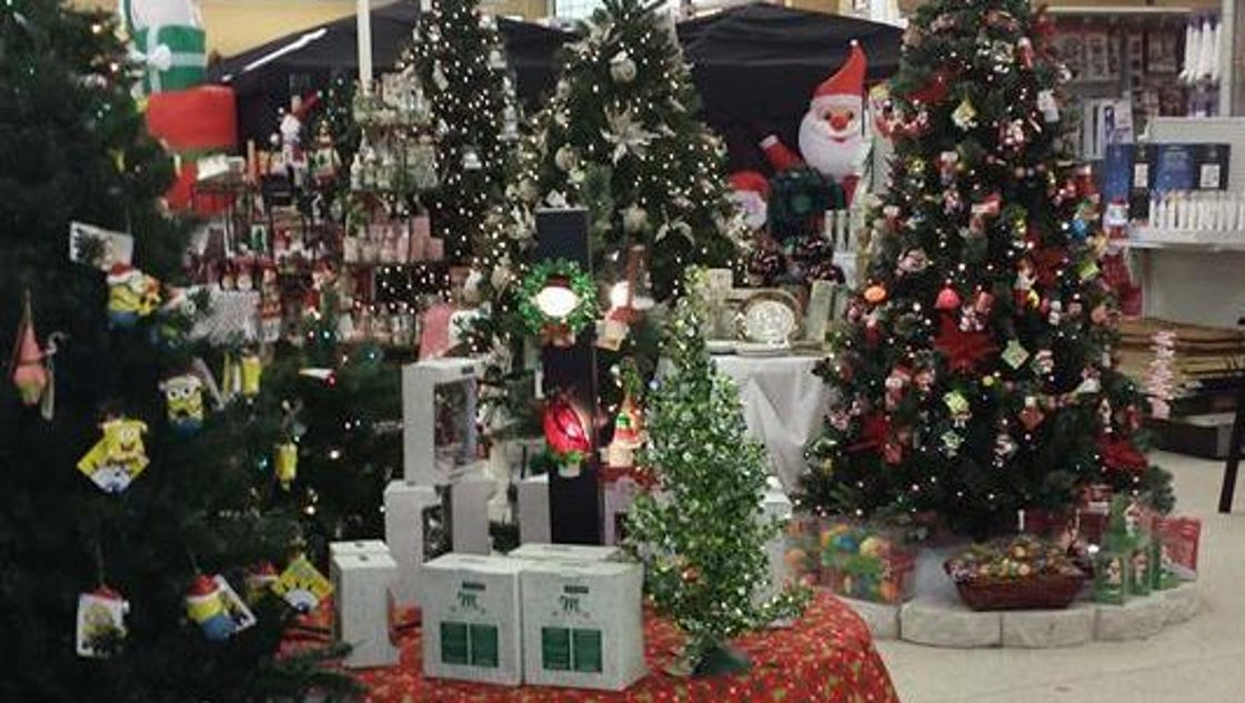 Christmas decorations in stores yes happening now for Shop xmas decorations
