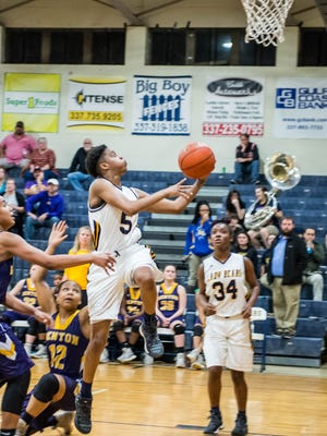 Ava Jones with another easy layup and the bucket Thursday  Feb. 16, 2017.