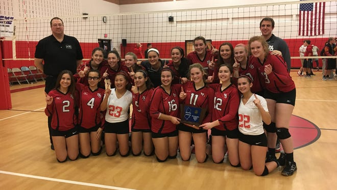 The Mount Olive volleyball team will play for the Group III title on Saturday.