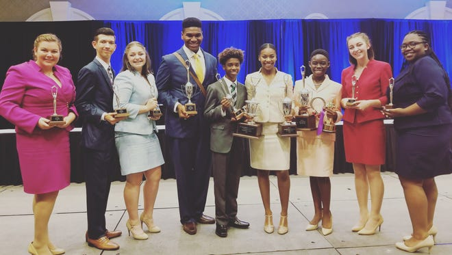 Students on the Comeaux High speech and debate team won national recognition at a recent competition.
