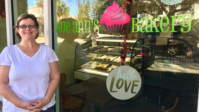 Kerry Moran, owner of Sue Ann's Bakery in downtown Melbourne, is preparing for a busy spring.