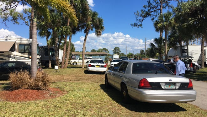 The Lee County Sheriff's Office is investigating two deaths at an RV park in North Fort Myers.