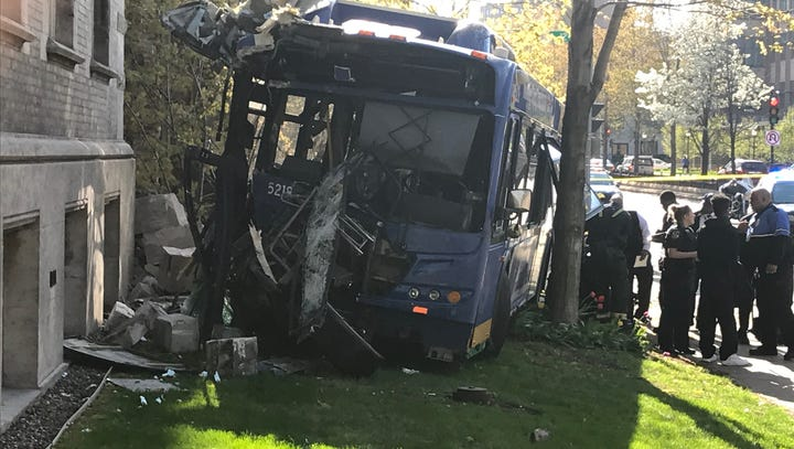 Wild bus crash into Marquette building: Videos released as investigation concludes driver error