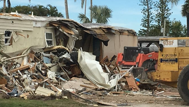Grady Johnson Jr. is looking to build the first traditional home on Plantation Island where a trailer was destroyed by Hurricane Irma.