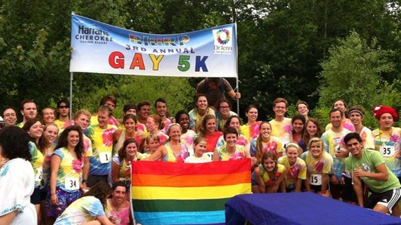 The fifth annual Gay 5K will be Saturday, July 11, at Carrier Park in Asheville.