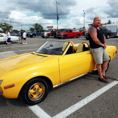 Some classic cars are considered more reliable than others -- mostly from the 1970s, both cars and pickups. One is this 1974 Toyota Celica. Jon Lybeck of Waterford, Mich., parked it along Woodward Avenue in Royal Oak, Mich., two years ago
