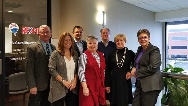 The Circle of Excellence winners at RE/MAX Preferred Professionals' two offices are Patrick Kelly, Melissa Jenkins, Mark Kot, Rosanne Aragona, Alexander Redalico, Diane Schilke, Sandra O'Keefe. Missing from this photo are winners Mark Heflin, Gloria McCauley and Jacqueline Shenloogian.
