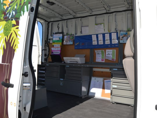 The Micronesian Resource Center One Stop Shop Mobile Access to Information Van has been operational since October. Staff have been doing outreaches throughout the island to provide services.
