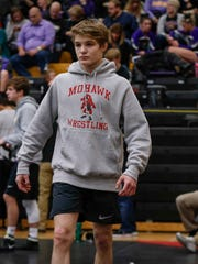 Mason City junior Cullan Schriever, an Iowa commit, has won two state titles in Class 3A, and will be aiming for a third this season.