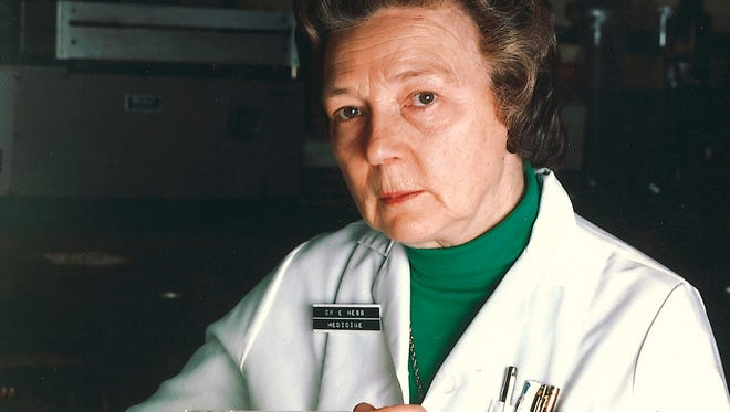Dr. Evelyn Hess of the University of Cincinnati College of Medicine, in an undated photograph. She died Christmas Day at 90.
