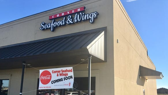 Corner Seafood & Wings is expected to open soon in