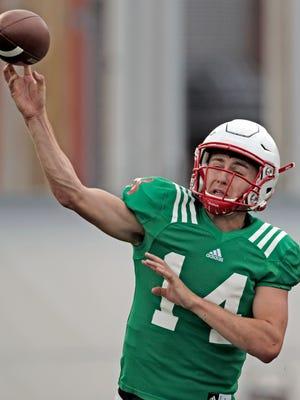 Tristan Gebbia, who starred at Calabasas High, has left Nebraska after true freshman Adrian Martinez was named the starting quarterback.
