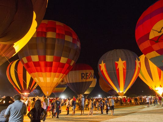 Balloon Spooktacular at Salt River Fields