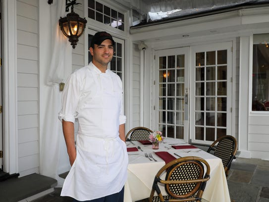 Eric Korn, the executive chef at Monteverde at Oldstone