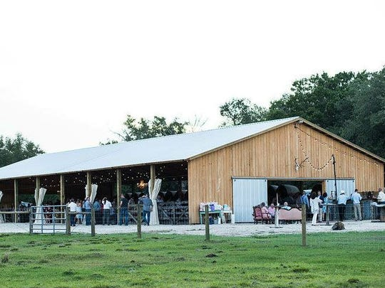 """The inaugural J-5 Ranch Barn Sale will be 8 a.m. to 4 p.m. May 5 in Okeechobee. The sale will feature vendors who specialize in """"shabby chic"""" items, including crafts, jewelry, vintage furniture pieces, woodwork, homemade soaps, farmhouse signs, specialty candles, leather goods and clothing."""