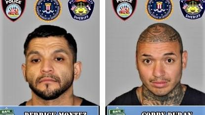 Authorities are seeking the public's help in locating these fugitives.