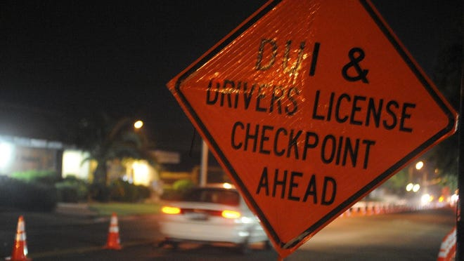 One person was arrested on suspicion of drunken driving during a Visalia police checkpoint operation Friday night.