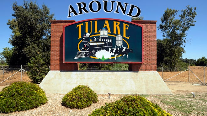 Around Tulare logo.