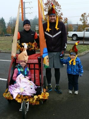 Participants are encouraged to dress up for the Keizer Turkey Dash on Nov. 26.