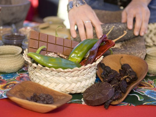 Sweet and spicy flavors combine for three days, Nov. 10-12, at Desert Botanical Garden, 1201 N. Galvin Parkway, Phoenix.  480-941-1225,  dbg.org/events/chiles-chocolate-festival.