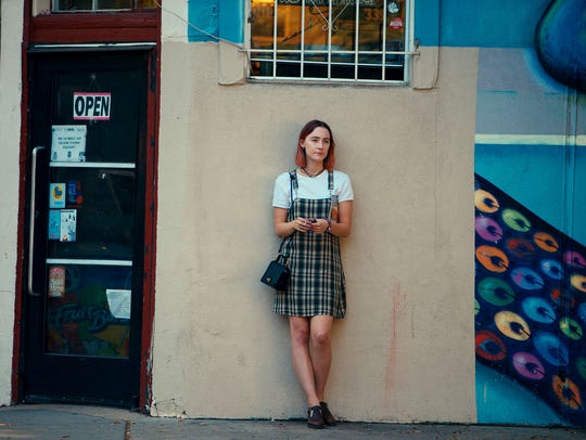 "Saoirse Ronan in ""Lady Bird."""