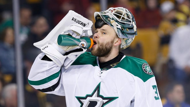 Antti Niemi posted a 3.30 goals-against average and .892 save percentage last season.