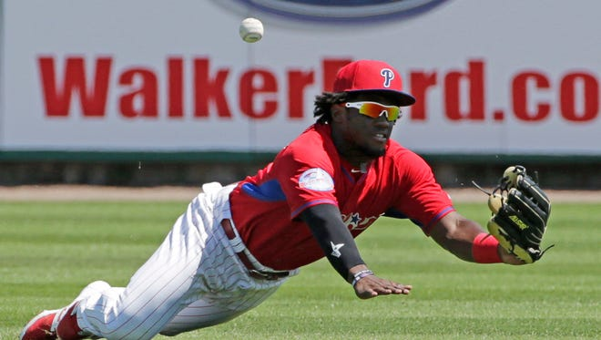 Phillies President Pat Gillick found positives during camp, liking what he saw from Rule 5 pick and opening day center fielder Odubel Herrera.
