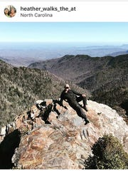 Heather Starbuck hikes the Appalachia Trail in honor