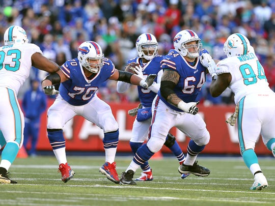 The Bills' offensive line will have a huge test trying to contain Rams DT Aaron Donald.