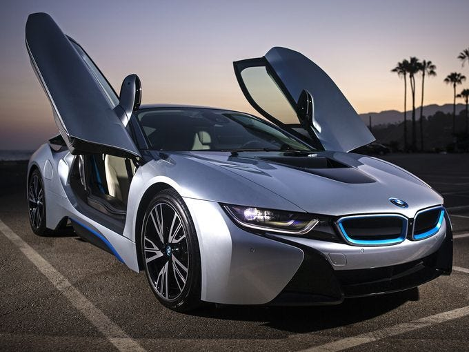 ... Environmentalists BMW Convertible Bmw I8 Backseat : Test Drive BMW I8:  Itu0027s A Stunner ...