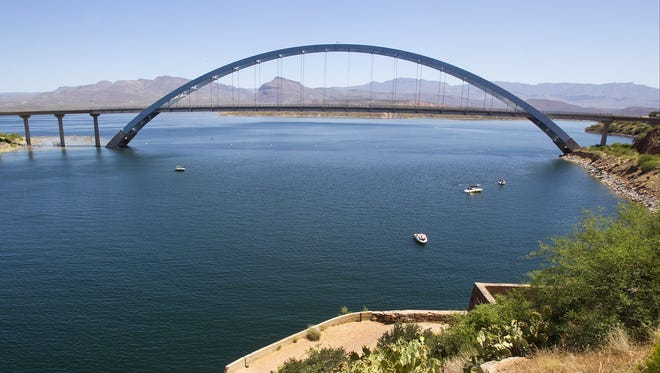 Water levels at Roosevelt Lake should rise this year after an infusion of snowpack on the Salt River watershed.