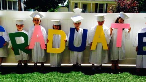 St Lawrence O'Toole Early Childhood Learning Center in Brewster held a graduation ceremony on June 18.