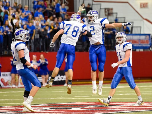 Class 11B football state championship, Sioux Falls Christian, Bridgewater-Emery/Ethan