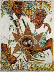 """Victory in the Valley of Eshu,"" 1971, Jeff Donaldson,"