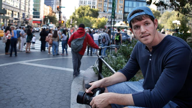 This Oct. 2, 2013 file photo shows street portrait photographer Brandon Stanton, creator of Humans of New York.